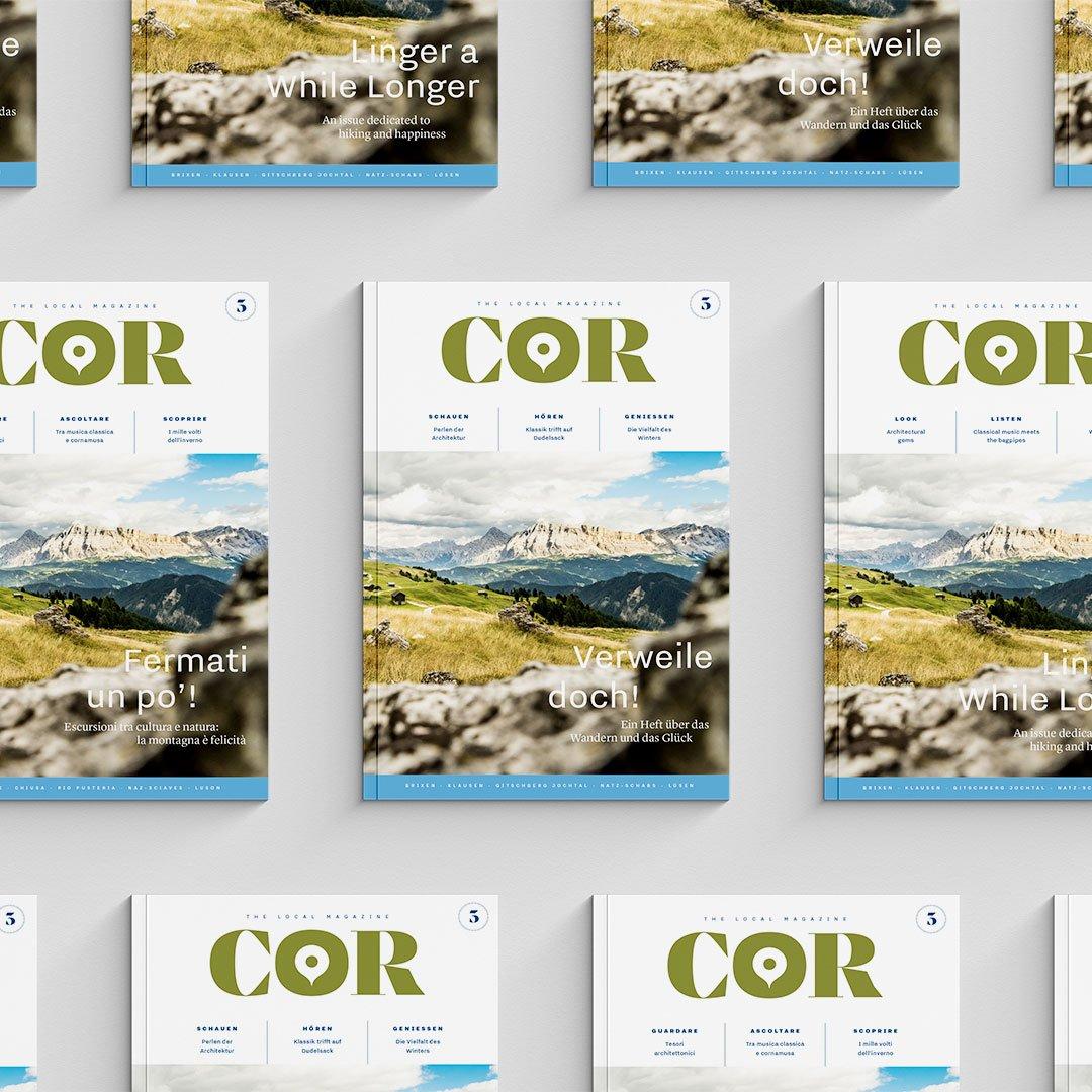 Exlibris Redaktion Magazin COR Südtirol