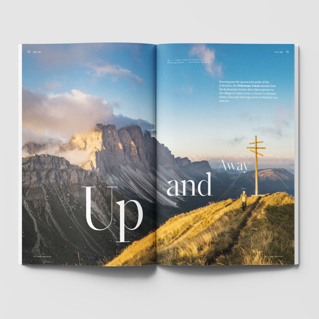 Exlibris Redaktion Magazin COR Südtirol Wandern
