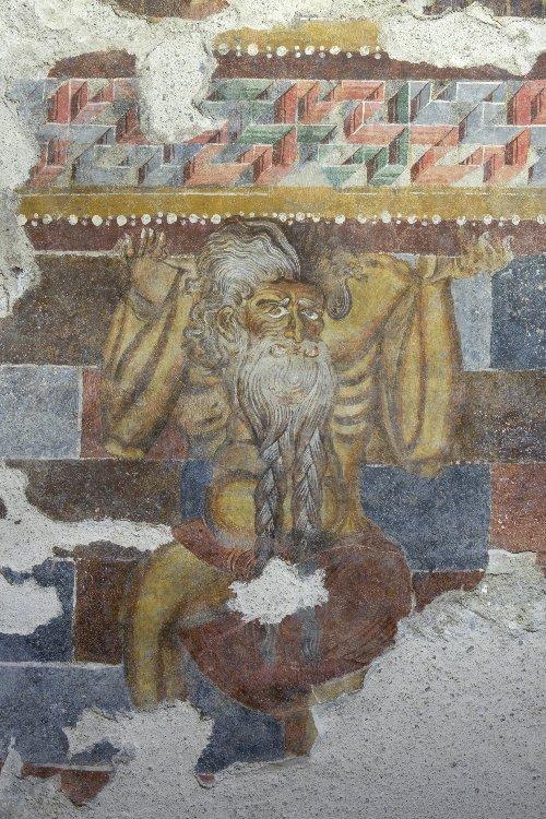 Fresko auf Schloss Rosenegg